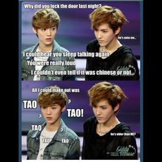 Nah Luhan's not that innocent (don't judge people based on appearances!)