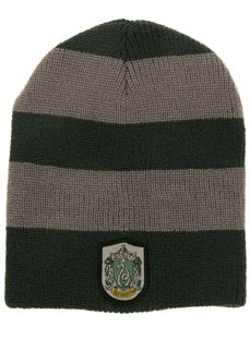Harry Potter Slytherin House Slouch Beanie