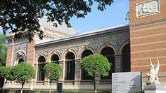 Palacio de Velázquez, Centro de Arte Reina Sofía, en el Parque del Retiro