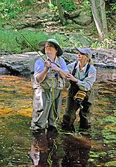 A wonderful organization that offers no cost retreats to women who have or have had breast cancer.  At these retreats the women are taught the art of fly fishing.  The gentle casting motion helps helps heal the soft tissue following surgery.  The women often leave changed and renewed.