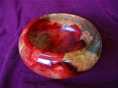 Flame box elder bowl by mongo54 on Etsy