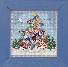 Firehouse Cross Stitch Kit Mill Hill 2009 Buttons /& Beads Winter