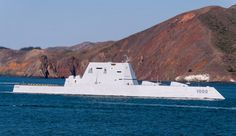 Military and Commercial Technology: Navy accepts delivery of USS Zumwalt Uss Zumwalt, Military News, Sea And Ocean, Us Navy, Warfare, 21st Century, San Diego, Commercial, Around The Worlds