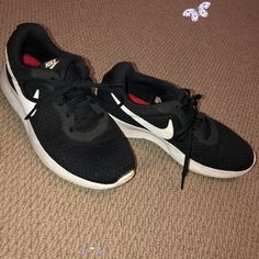 Nike Shoes | Nike Tennis Shoes | Color: Black/White | Size: 9 Nike Tennis Shoes. Size 9. Lightly Worn<br> Nike Tennis Shoes, Running Shoes Nike, White Nikes, Nike Free, Nike Women, Shoes Sneakers, Color Black, Black And White, Things To Sell