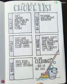 Track your chores