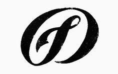 Logo - Monogram - texture type hand drawn type -