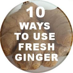 Got extra ginger root languising in your fridge? Here are some ideas on what to do with fresh ginger root and how to use it in cooking. Includes recipes for ginger-flavored apple sauce, salad dressing, soup and more! Ginger Uses, Tumeric And Ginger, Ginger And Honey, Fresh Ginger, Turmeric, Cooking With Ginger, Recipes With Ginger Root, Ginger Water Benefits, Healthy Cooking