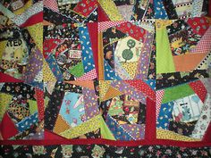2 loves: crazy quilts and Mary Engelbreit