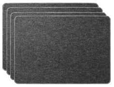 Menu - Dækkeservietter filt 4 stk.