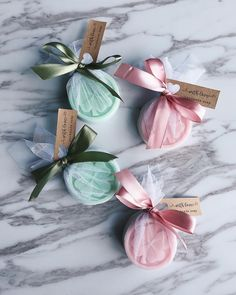 Handmade soap favours wrapped in tutu and tied with satin ribbon. 💚 perfect for bridal shower, wedding or baby shower. DM us to order ✨ Creative Wedding Favors, Inexpensive Wedding Favors, Elegant Wedding Favors, Edible Wedding Favors, Wedding Shower Favors, Wedding Favors For Guests, Wedding Gifts, Door Gift Wedding, Baby Shower Favours