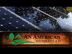 A new video about Solar Panels has been posted at http://greenenergy.solar-san-antonio.com/solar-energy/solar-panels/cleaning-solar-panels-an-american-homestead/