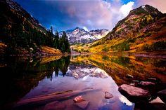 "Aspen area, Colorado, ""Maroon Bells"" by Dan Ballard Photography"