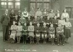 Pupils of St John's School, Basingstoke, 1934