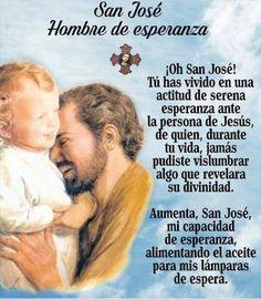 San Jose, Catholic Prayers In Spanish, Strong Faith, Prince Of Peace, Prayer Scriptures, St Joseph, God Is Good, Saints, Beautiful Pictures