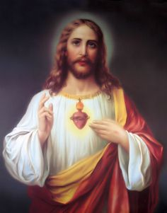 """""""There is in the Sacred Heart the symbol and express image of the infinite love of Jesus Christ which moves us to love in return."""" -- Pope Leo XIII"""