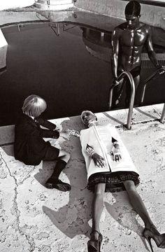 Daphne Guinness ph Steven Klein for Vogue Italia, September 2008