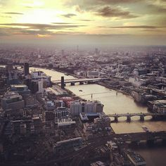 Sunset over the Thames., via Flickr.  I'll be there in 3 weeks!