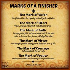 """'Finishers Wanted"" by Thomas S. Monson #MormonWomenStand #SundayClassics #Endurance #Discipleship www.mormonwomenstand.com 7/27/2014"
