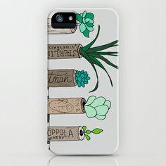 Succulent Wine Cork Print iPhone & iPod Case by Georgie Pearl Designs - $35.00