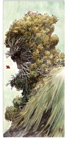 MAN ARENAS 24 Illustration originale de Yaxin le faune Gabriel