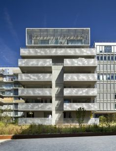 54 logements ZAC Seguin Rives de Seine | Boulogne-Billancourt, France | Philippe Dubus Architectes