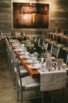 The urban loft setting. Brandon Scott, Urban Loft, Wedding Decorations, Table Decorations, Toronto Wedding, Beautiful Bride, Our Wedding, Wedding Stuff, Wedding Inspiration