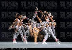 Time-lapse de una bailarina.