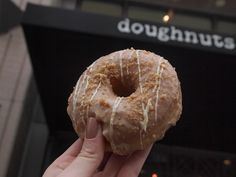 Cinnamon Crunch Doughnut from Astro Doughnuts, Washington DC   Feed Me with Amanda Travels