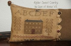 Atelier Sweet Country: Punto croce ...