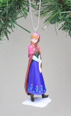 Disney Frozen Anna Holiday Ornament. Limited Availability. For order or details click on the image!