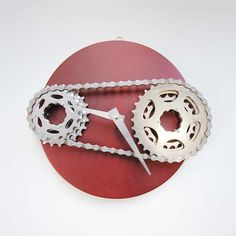 Sprocket Madness Clock - TIME TO RIDE