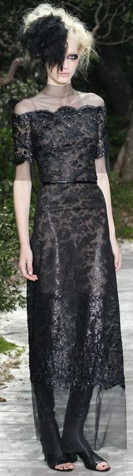 Chanel - Haute Couture Spring 2013