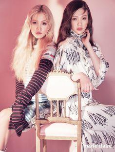Red Velvet's Yeri & Joy // Marie Claire Korea