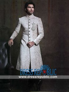 Style DRM1585 - DRM1585, Cheap and Best Sherwani Online Collection For Shadi August, CA by www.dressrepublic.com