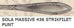 SOLA MASSIVE 436 STRIKFILET PUNT