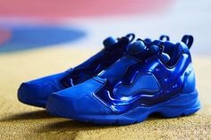 "Image of AMBUSH x Reebok Pump Fury HLS ""Metallic Blue"""