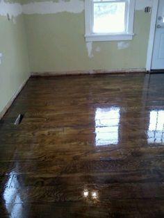 Plywood plank flooring DIY http://livelovewear.com/homedecor
