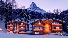 Zermatt's snow-sure, multi-terrain ski scene retains its status as one of the world's finest fluffy white wonderlands. And 20 minutes from all the town's lively après ski is the quiet suburb of Winkelmatten; the chilled (sorry) setting for Matthiol Boutique Hotel offering a little romance and heavy measure of Alpine charm to your snowy sojourn.