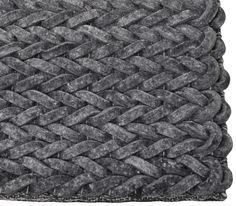 Nienke vloerkleed - Zuiver - 170 x 240 antraciet