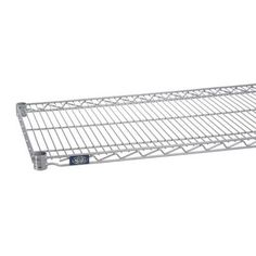 "Nexel Standard Wire Shelf Finish: Silver Epoxy, Size: 1.75"" H x 42"" W x 24"" D"