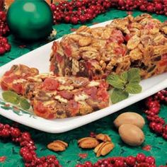 Pecan Date Fruitcake Recipe
