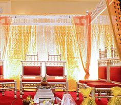 Stage decoration possesses huge prominence as it is the holy place where the couple who is going for wedding exchanges their vows. It is also called a Mandap in Hindu marriage event. In the former days, mandap decorations were depends on conventional rituals as well as beliefs. Nowadays it is highly decorated in diverse styles to suit everyone preferences.