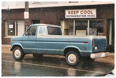 Custom VANS natural BABES & other bad ass transportation. Ford Pickup Trucks, 4x4 Trucks, Cool Trucks, Custom Trucks, Gmc Vans, 4x4 Van, Chevy Van, Small Trucks, Panel Truck