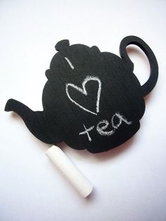 Tea Pot Magnet - Chalkboard Fridge Magnet - Refrigerator Magnet - Fun Tea Pot Magnets - Blank Fridge Magnet Blackboard - Kitchen Home Decor    A blank 10cm tea pot chalkboard with a magnetic reverse to write your own messages on. A great little gift for the tea lover in your life!  NEW IMPROVED DESIGN  This listing is for 1 magnet. These are handmade chalkboards and not indestructible, though the magnets are superglued on, please be careful when removing them from the fridge surface.