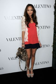 In a dream world I would live in Ashley Madekwe's closet! I'm obsessed with her style!