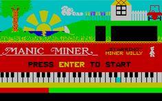 Manic Miner!