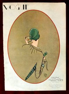 Vogue-Magazine-Original-Cover-Only-March-1-1926-P-Woodruff