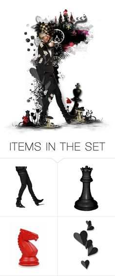 """""""You Like Hats? I'm Mad About Hats!"""" by girlinthebigbox ❤ liked on Polyvore featuring art, Halloween, aliceinwonderland, madhatter, DarkFantasy and darkwonderland"""