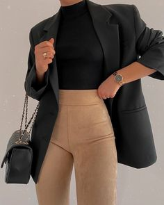 Fashion Inspiration And Casual Outfit Ideas For Women - Fashion Inspiration And Casual Outfit Ideas For Women Casual Outfits, Street Style Clothes, Outfi - Outfit Chic, Stylish Outfits, Classy Business Outfits, Business Professional Outfits, Office Outfits Women, Business Attire, Business Fashion, Mode Outfits, Fashion Outfits