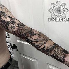Manga de estilo japonés. Artista tatuador: Kirk... - Tatuajes para Hombres